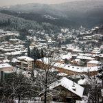 Изглед от зимна Трявна