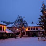Коледна елха на стария площад